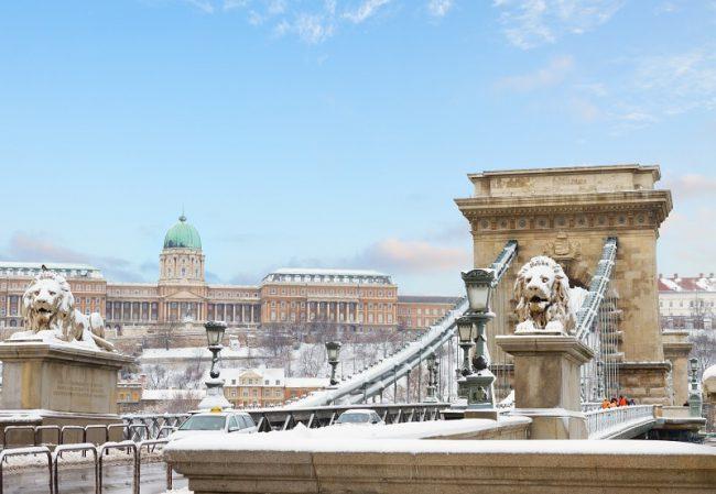 El tiempo en Budapest invierno