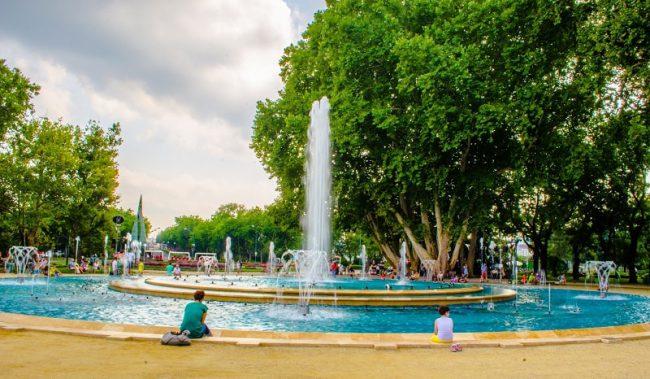 El verano en Hungría